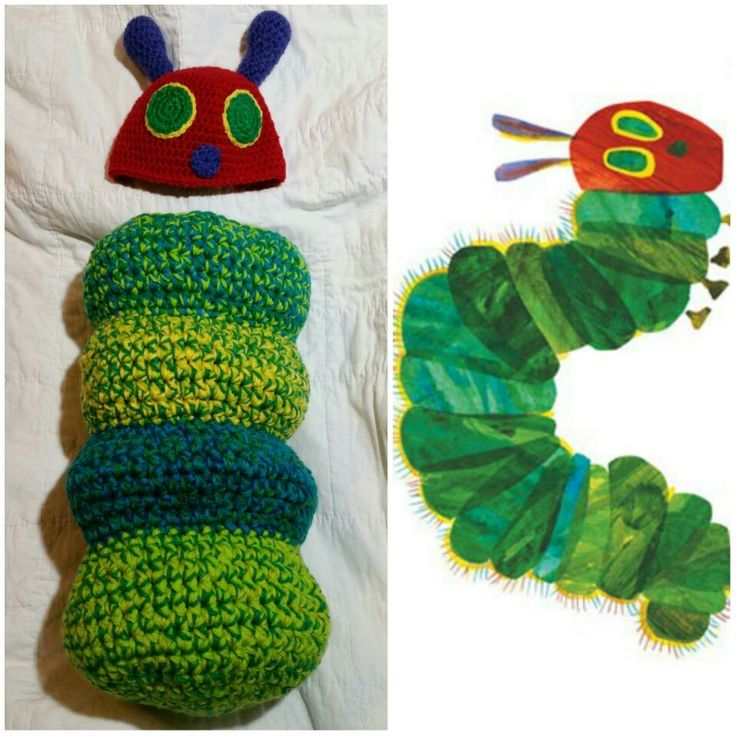 Free Crochet Pattern For Hungry Caterpillar Cocoon Traitoro For