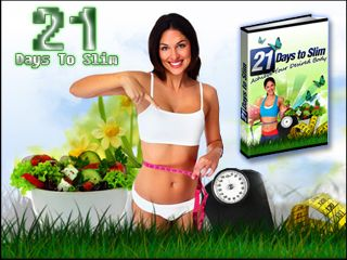 21 Days To Slim – Proven Step By Step Weight Loss Secrets Revealed. You have just found the RIGHT weight loss e-book that you have been looking for. Now, at last you will be able to shed excess body fat and become the slim and gorgeous person you were always meant to be.