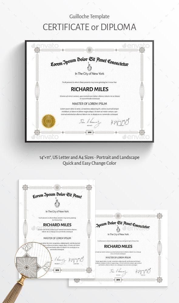 Certificate - #Certificates #Stationery Certificate Design