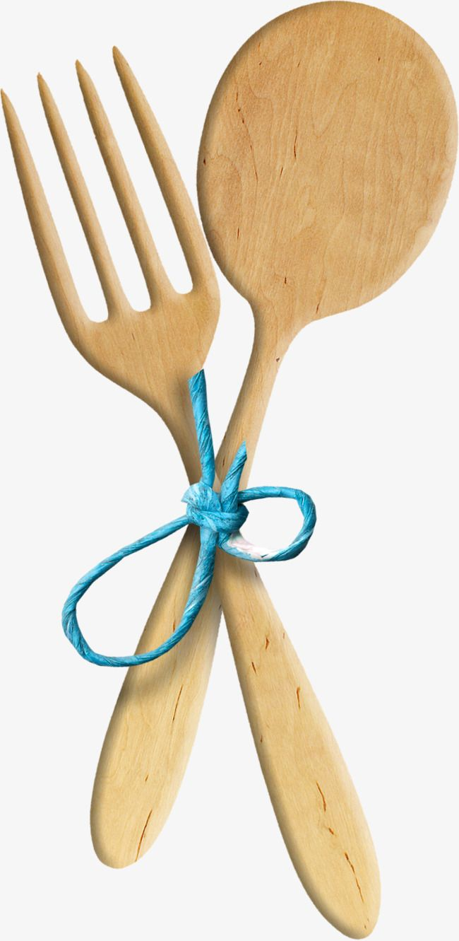 Wooden Spoon Fork Spoon Clipart Fork Clipart Bluewooden Spoon