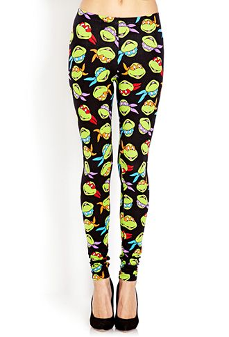 TMNT leggings Lmao I kind of want these