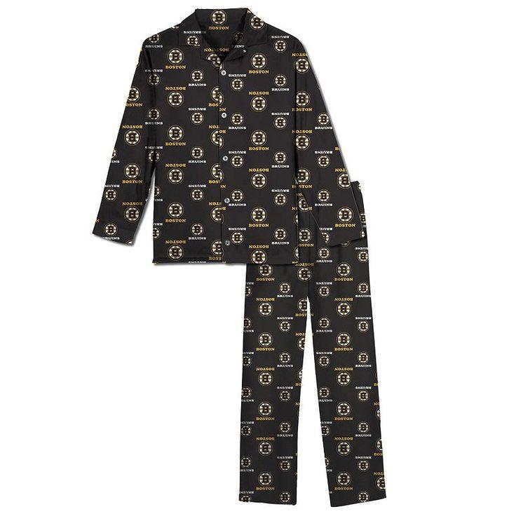 Boston Bruins Pajama Set - Boys 8-20, Boy's, Size: 12-14, Ovrfl Oth