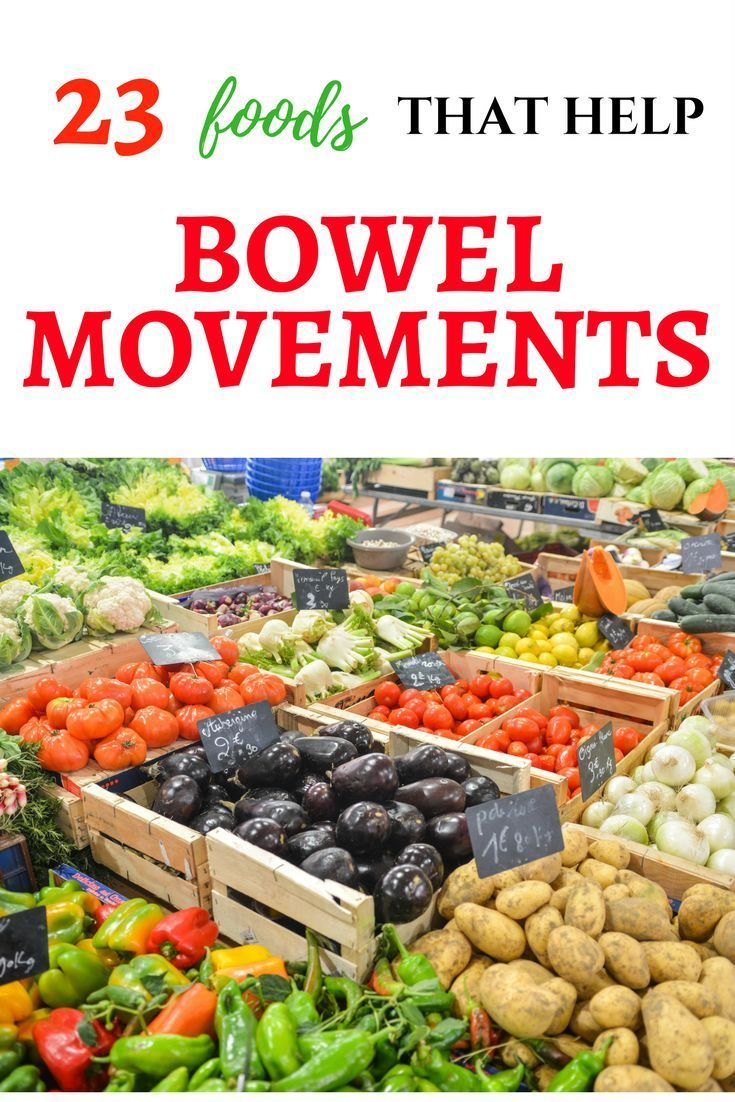 Natural Foods That Help With Bowel Movements