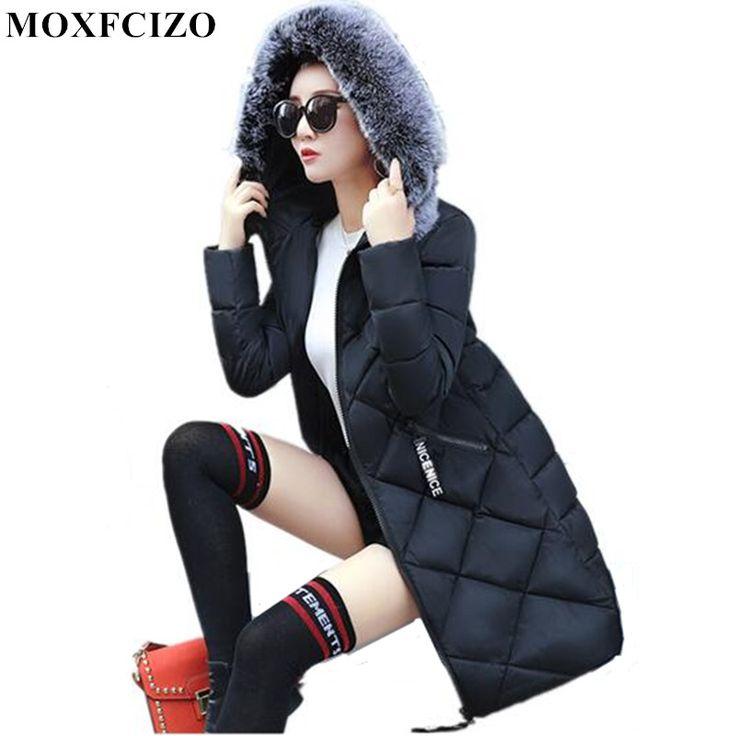 Long Winter Jacket Women Thick Warm Hooded Cotton-padded Female Jacket Parka Women Slim Winter Coat Women Cotton Down Jackets Jetzt bestellen unter: https://mode.ladendirekt.de/damen/bekleidung/jacken/winterjacken/?uid=b81f4140-c311-5c40-bd7f-95cbc2007ec6&utm_source=pinterest&utm_medium=pin&utm_campaign=boards #winterjacken #bekleidung #jacken