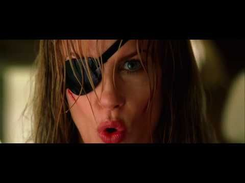 Kill Bill Trailer fight- Elle Driver v. Bea. My 2nd favorite fight in the series. I freaking love Elle Driver :D