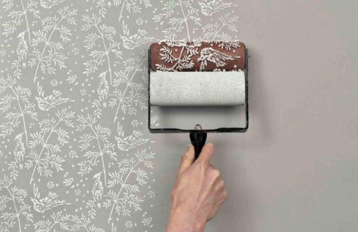 Met deze handige verfrollers maak je de mooiste prints op je muur