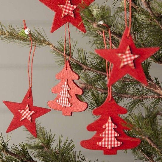 Decorazioni natalizie in legno