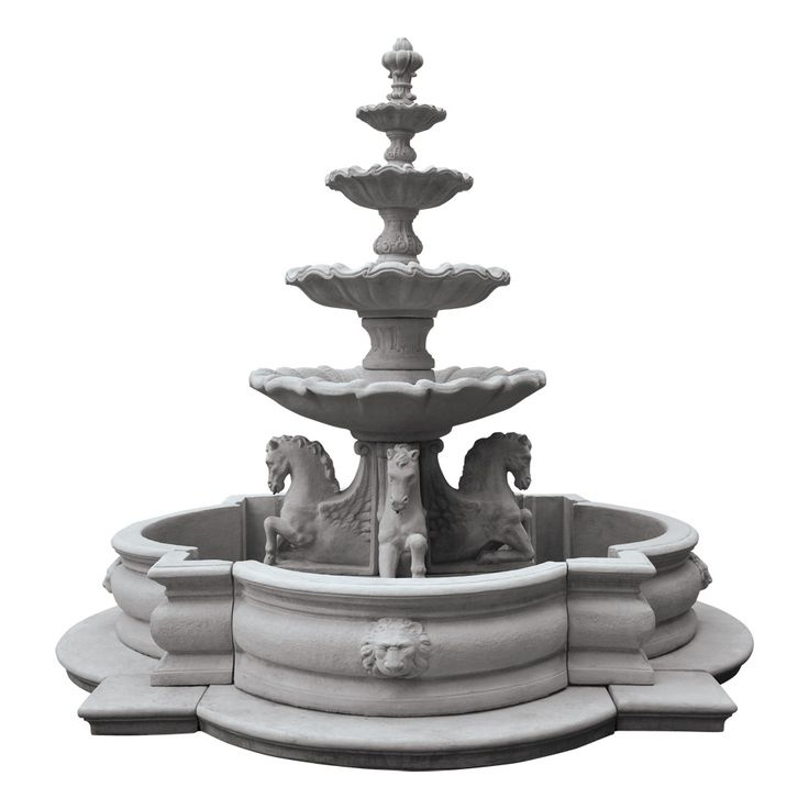 At Home With White. Outdoor OutletGarden FountainsWater ...