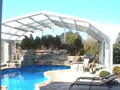 Our enclosures feature an innovative design and automated features that are unique in the industry. Watch it live.	https://goo.gl/R4jOlj	#Pool #PoolCover #Cover #Enclosure #PoolEnclosure #IndoorPools #PatioEnclosures #PoolDesigns #SwimmingPool #EndlessPool #RectractablePool  #GroundPool