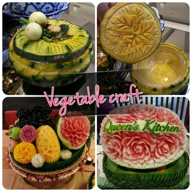 Vegetable craft