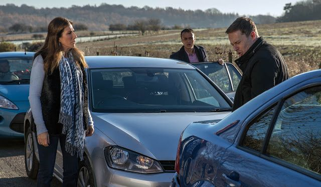 'Emmerdale' (New!) Spoilers: Megan Macey is involved in a car accident - first look   Megan is stressed-out and will have a crash in early 2017 new spoilers revealed - but what's wrong her? is she just tired.  Upcoming Emmerdale episodes of the ITV soap will see Megan's relationship with charmer Frank start to flourish but daughter Eliza's health remains a cause her concern especially when the day of her physiotherapy appointment arrives.  While driving to the physio meeting a preoccupied…