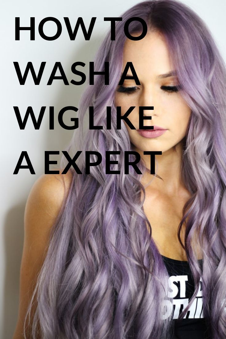 how to wash a synthetic wig properly