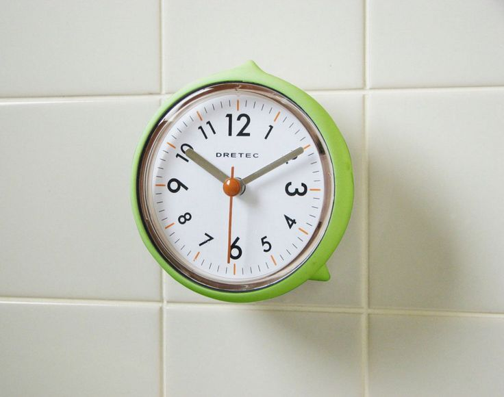 The 25 Best Small Wall Clocks Ideas On Pinterest  Figure 8 Wall Impressive Small Wall Clock For Bathroom Decorating Design