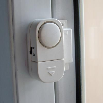 Wireless Home Security Window Door Entry Alarm RV Burglar Alarm - $0.95.  Will be buying like 50 of these.