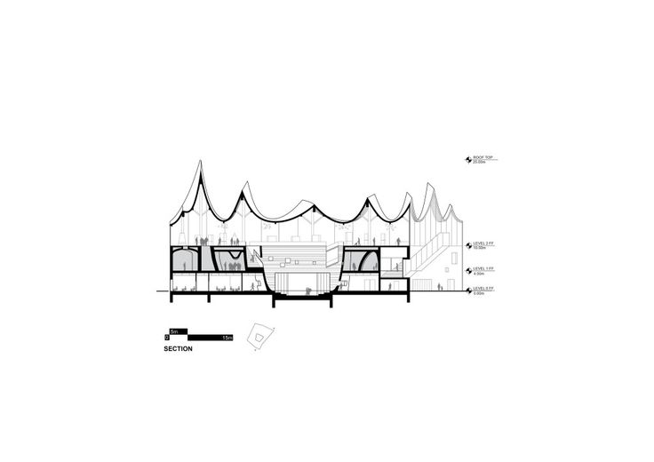 """Competition Entry: Fundamental Envisions """"House of Hungarian Music"""" for Budapest"""