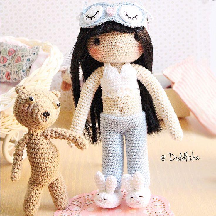 7 best my crochet doll pajama girl Diddlisha crochet images on ...