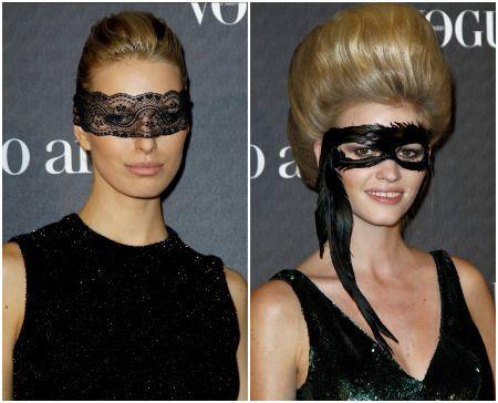 Masquerade Masks Hairstyles | Music Festival | Pinterest