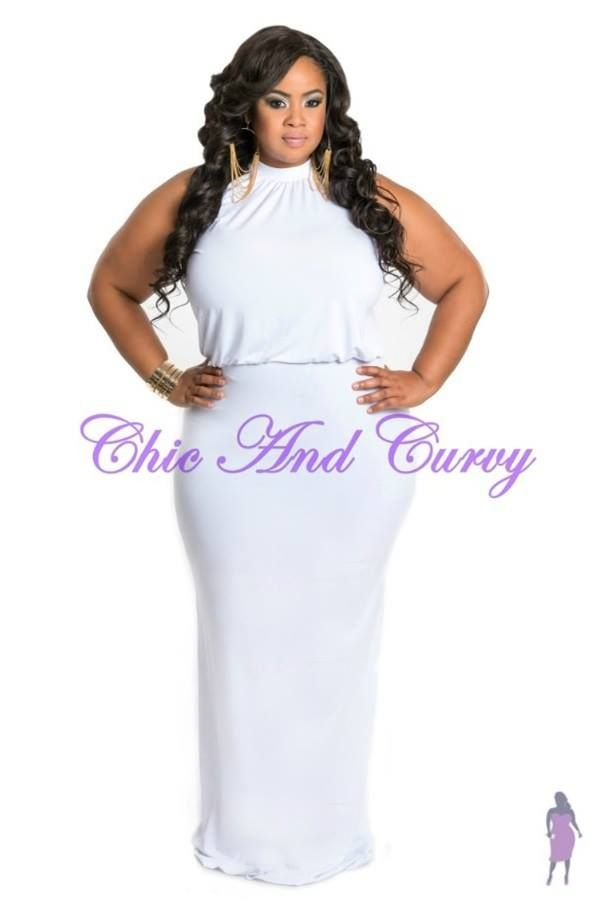 46 best images about All White Party on Pinterest | Plus size ...