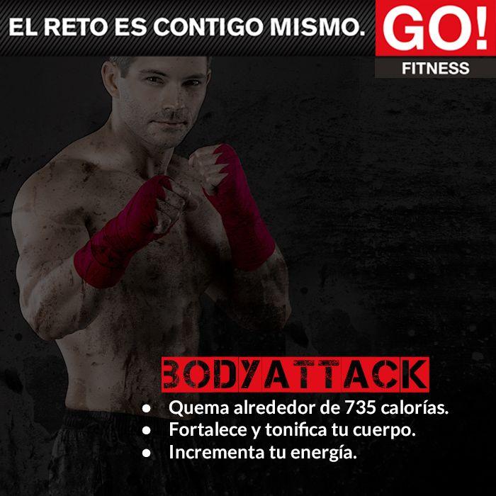 Body Attack. #gofitness #clasesgo #ejercicio #gym #fit #fuerza #flexibilidad #reto #motivate #bodyattack