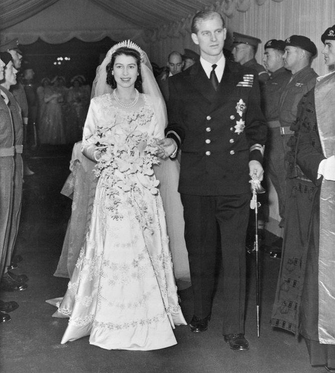 La Regina Elisabetta II e il Principe Filippo, duca di Edimburgo