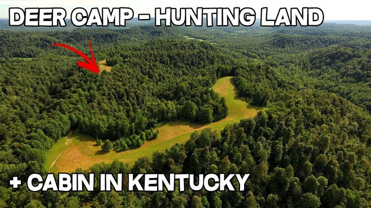 Deer Camp for sale in Kentucky hunting land with cabin, can you make a l...
