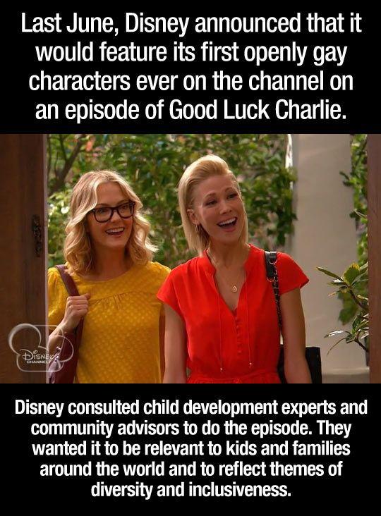 I think this is wonderful! Go Disney!!