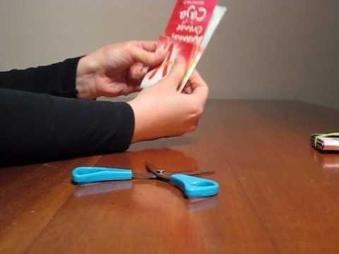 Knutselen: portemonnee maken van sap- of melkpak - YouTube Ook: http://youtu.be/BpVuAukjXqc