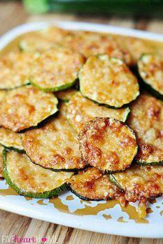 Parasean Zuchinni crisps