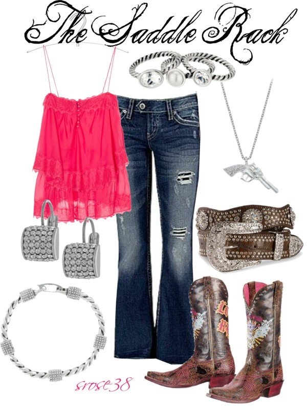 """Saddle rack"" by srose38 on Polyvore"