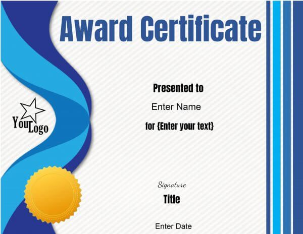 The 25+ best Free certificate maker ideas on Pinterest - Award Certificate Template Word