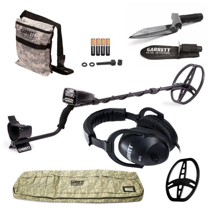 Amazon.com : GARRETT AT PRO METAL DETECTOR W/8.5 X 11 DD COIL & COVER ADVENTURE PK DVD W/MUST HAVE ACCESSORIES : Hobbyist Metal Detectors : Garden & Outdoor