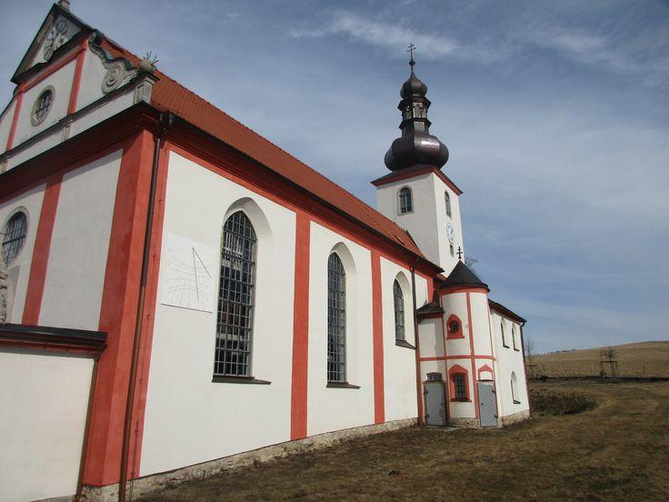 Kostel sv. Šimona a Judy - Lipová - Ústecký kraj
