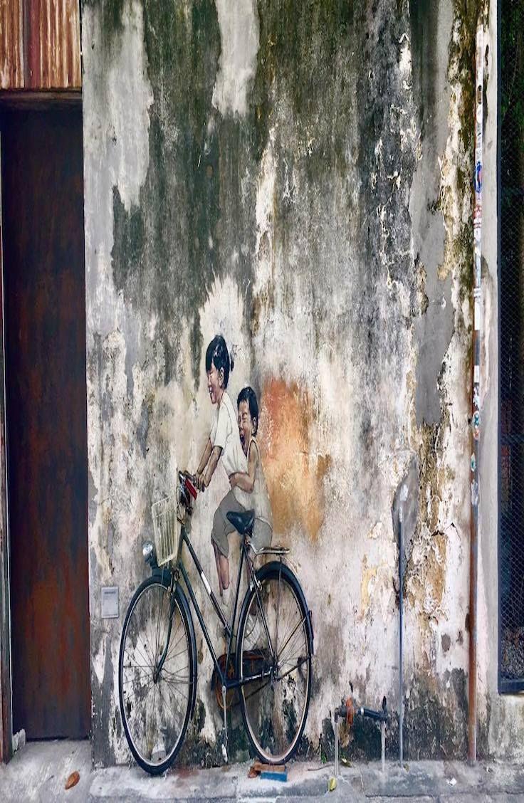 Explore the Street Art in Georgetown