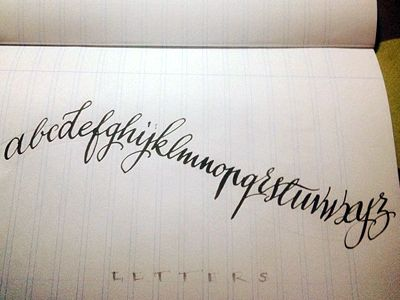 43 best calligraphy ~ & left handed images on pinterest typography
