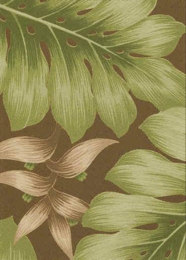 Oha Chocolate Tropical Hawaiian | Vintage linens | Pinterest