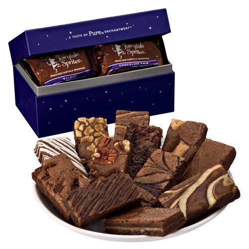 Fairytale Brownies Fairytale Sprite Dozen Gift Box - http://mygourmetgifts.com/fairytale-brownies-fairytale-sprite-dozen-gift-box/