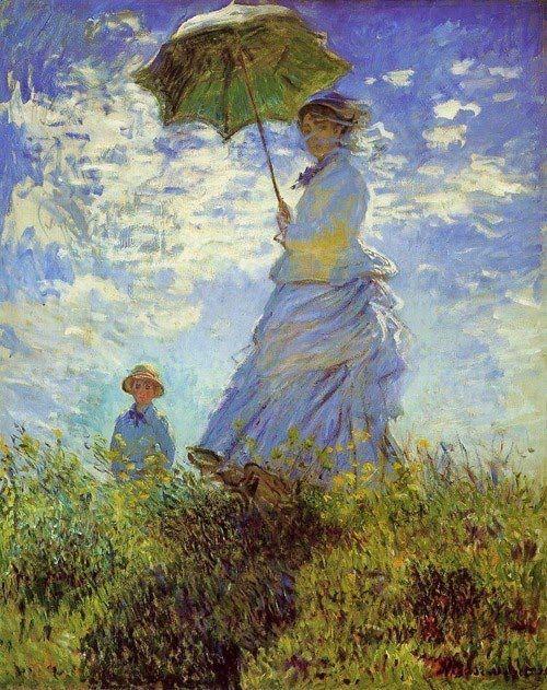 Claude Monet (1840-1926) - The Walk, 1875