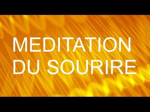 Méditation guidée en français - Méditation du sourire - ❤