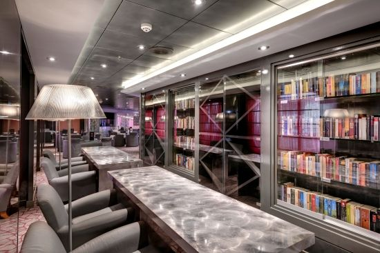 #MSCSinfonia Sinfonia Lounge #knjižnica