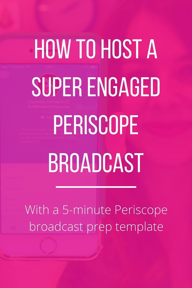 This is the method I used to quickly get more than 1,000 followers on Periscope. Works like a charm!