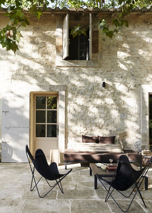 A RUSTIC MODERN HIDEAWAY IN THE SOUTH OF FRANCE | THE STYLE FILES