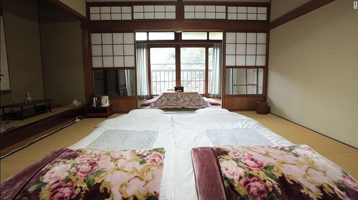 The temples' private Japanese-style guest rooms vary in price according to size and views. All rooms feature comfortable futon beds, which are rolled out at night onto tatami floors.