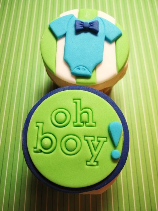 Oh Boy Baby Shower Ideas | Ideas for a Baby Shower, Boy. / Oh boy! Fondant disc