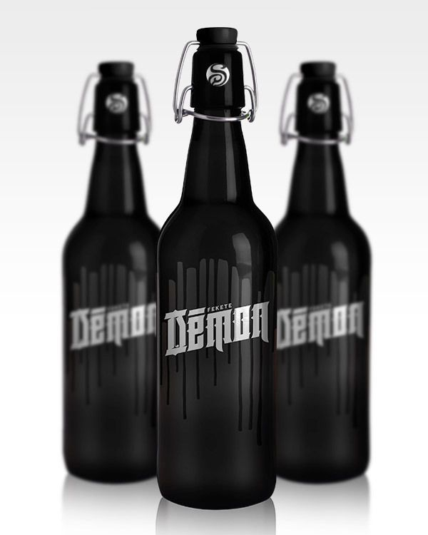 Hungarian Beers Redesigned by Csaba Bernáth, via Behance