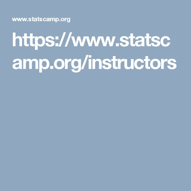 https://www.statscamp.org/instructors