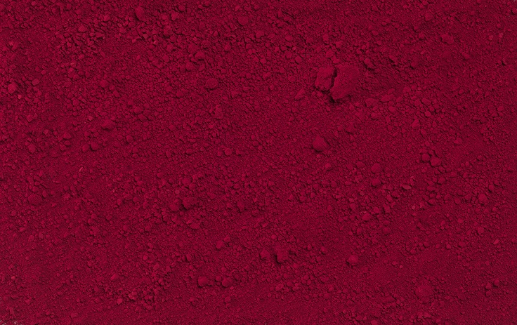 Pigment shot for our exhibition catalogue RED in the Saastamoinen Foundation Art Collection