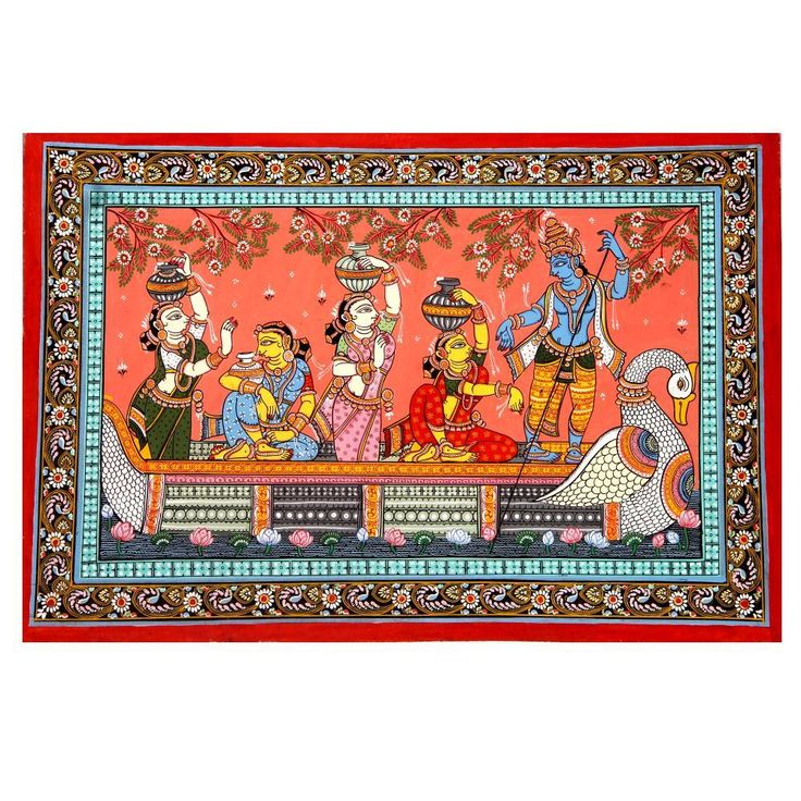 Naav Keli : Pattachitra Paintings,Indian Gifts Portal