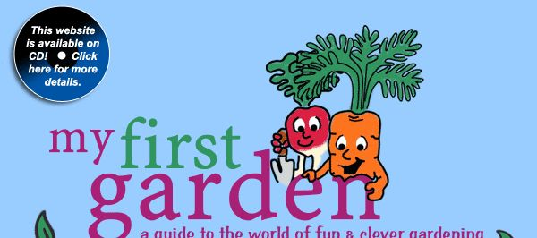 Cute website for kids who want to learn more about growing a garden (Make the World a Better Place petal)