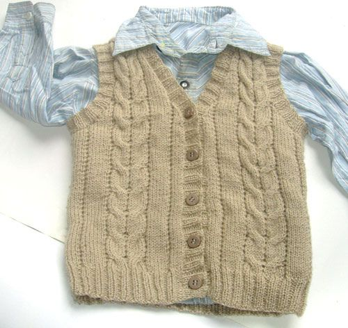 free knitting pattern: free baby knitting