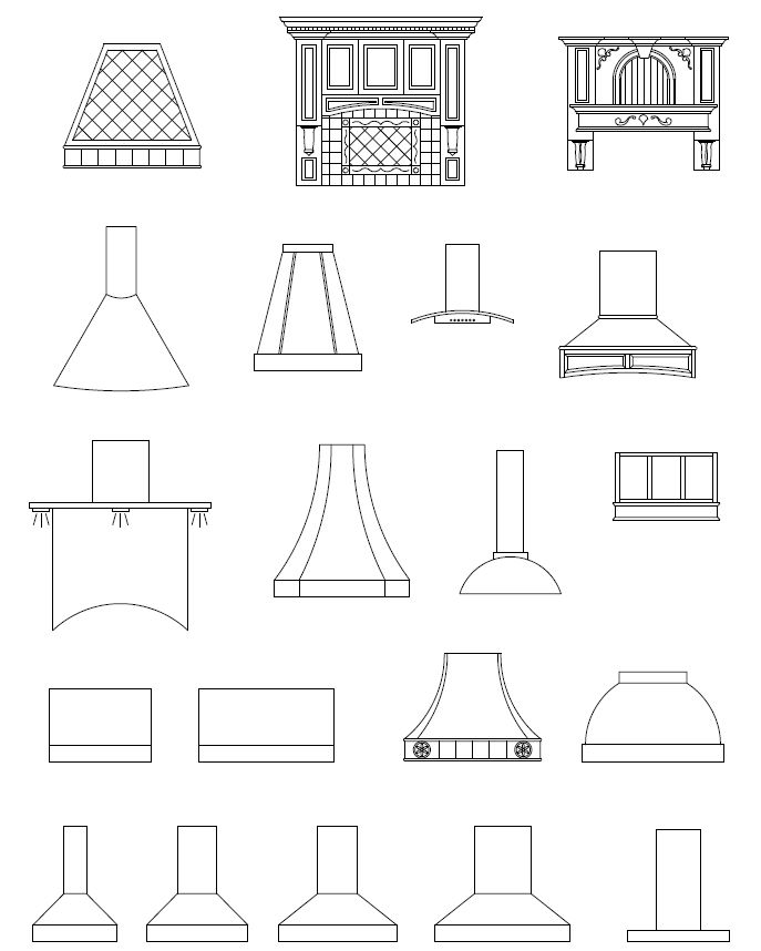 oven hoods - Google Search                                                                                                                                                                                 More